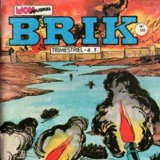 Cómics: EL CORSARIO DE HIERRO EN FRANCÉS - BRIK Nº 195 - OCTUBRE 1981 - PORTADA CORSARIO DE HIERRO. Lote 144209274