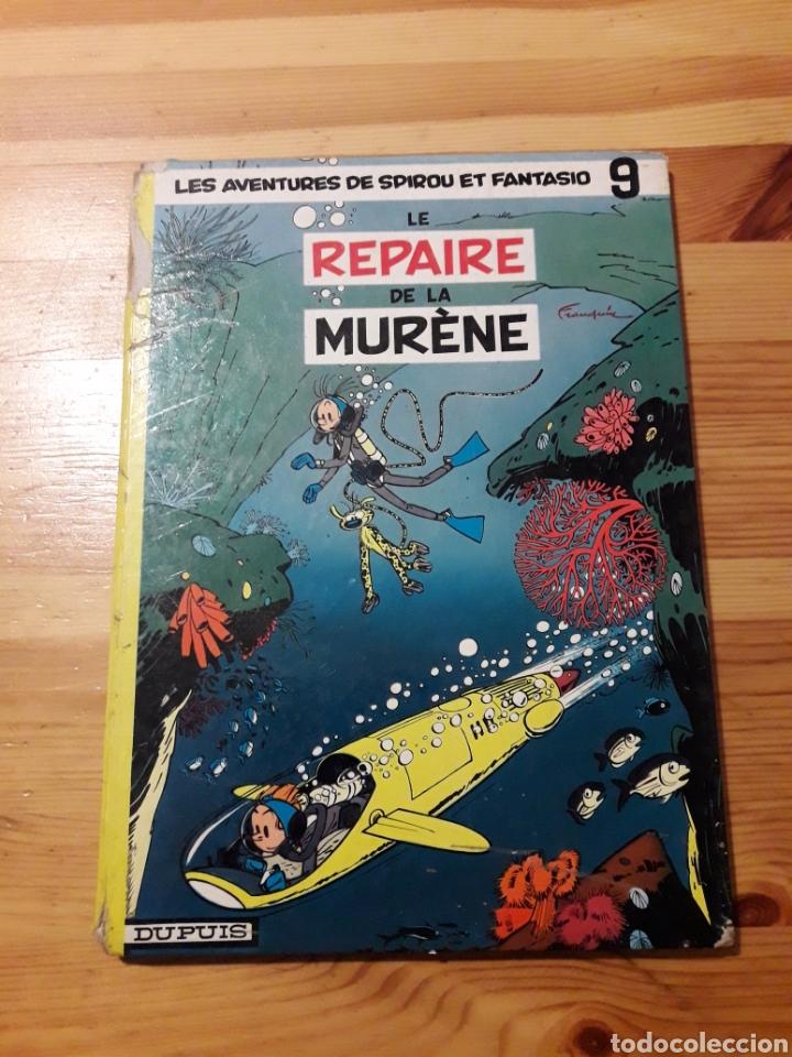 LE REPAIRE DE LA MURÈNE LES AVENTURES DE SPIROU ET FANTASIO DUPUIS (Tebeos y Comics - Comics Lengua Extranjera - Comics Europeos)