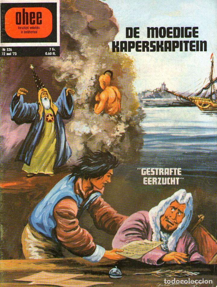 EL CORSARIO DE HIERRO - AMBICIÓN FRUSTRADA - EDITADO EN BELGICA - PORTADA EXCLUSIVA BELGA - 1973 (Tebeos y Comics - Comics Lengua Extranjera - Comics Europeos)