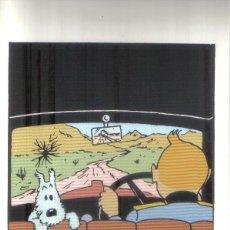 Cómics: POSTAL TINTIN - LA OREJA ROTA. Lote 145632610