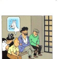 Cómics: POSTAL TINTIN - TINTIN EN AMERICA. Lote 145633106