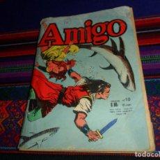 Cómics: AMIGO Nº 18 1ª SERIE EL CAPITÁN TRUENO Y BENGALA EN FRANCÉS. AÑO 1966. 130 PÁGINAS. RARO.. Lote 145636166