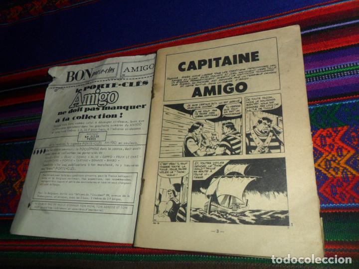 Cómics: AMIGO Nº 18 1ª SERIE EL CAPITÁN TRUENO Y BENGALA EN FRANCÉS. AÑO 1966. 130 PÁGINAS. RARO. - Foto 2 - 145636166