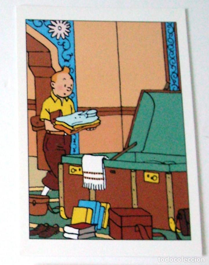 POSTAL TINTIN (Tebeos y Comics - Comics Lengua Extranjera - Comics Europeos)