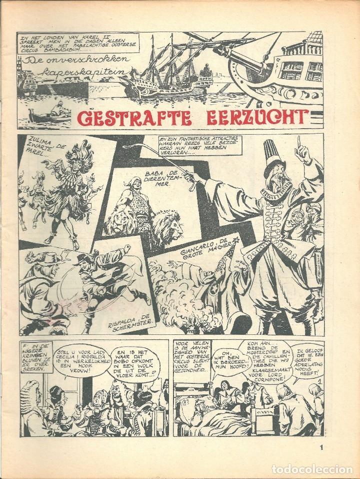 Cómics: EL CORSARIO DE HIERRO - AMBICIÓN FRUSTRADA - Editado en BELGICA - PORTADA EXCLUSIVA BELGA - 1973 - Foto 2 - 145389206