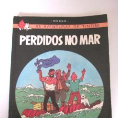 Cómics: TINTIN AS AVENTURAS DE TINTIM PERDIDOS NO MAR 1970 RIO DE JANEIRO BRASIL HERGÉ PORTUGUÉS RECORD EDIT. Lote 147450610