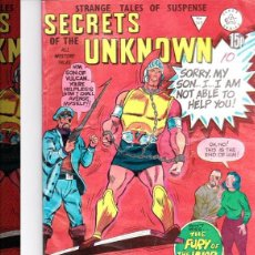 Cómics: SECRETS OF UNKNOWN Nº169- REINO UNIDO. Lote 147595546