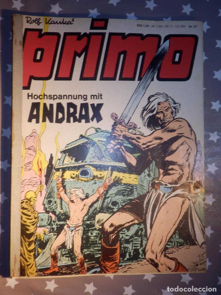 COMIC EN ALEMAN - PRIMO - HOCHSPANNUNG MIT ANDRAX - NR. 27, 19, 7, 20 - VARIOS NÚMEROS (Tebeos y Comics - Comics Lengua Extranjera - Comics Europeos)