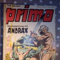 Cómics: COMIC EN ALEMAN - PRIMO - HOCHSPANNUNG MIT ANDRAX - NR. 27, 19, 7, 20 - VARIOS NÚMEROS. Lote 147867346