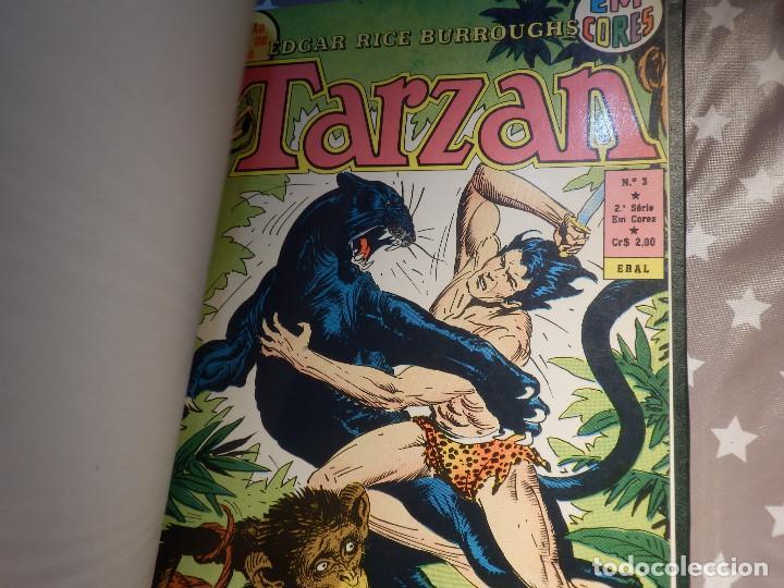 Cómics: Comic - Tarzán; El Hombre Mono 6 historias encuadernadas - EBAL - En Portugues - Brasil -1973 - Foto 2 - 147951274