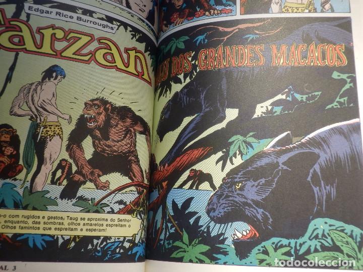 Cómics: Comic - Tarzán; El Hombre Mono 6 historias encuadernadas - EBAL - En Portugues - Brasil -1973 - Foto 4 - 147951274