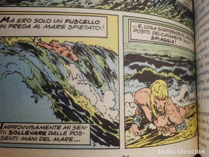 Cómics: Comic - Tarzán; El Hombre Mono 6 historias encuadernadas - EBAL - En Portugues - Brasil -1973 - Foto 5 - 147951274
