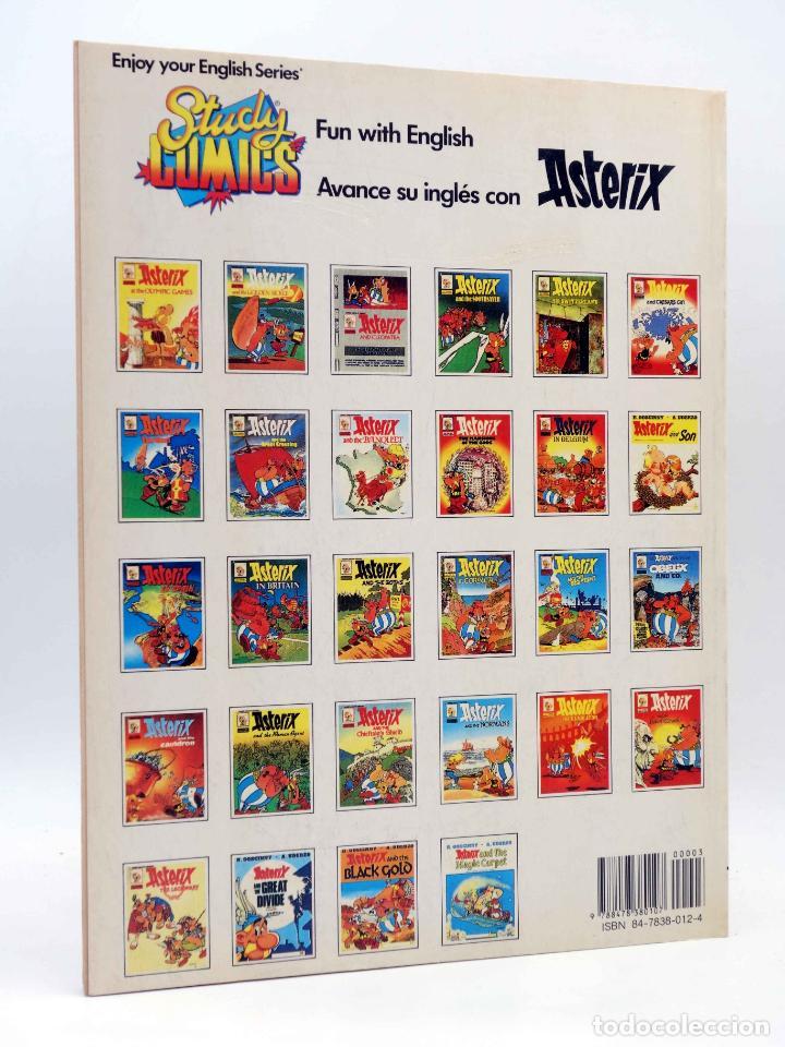 Cómics: STUDY COMICS ASTERIX A2. ASTERIX AND THE GOLDEN SICKLE (Goscinny / Uderzo) Ediciones del Prado, 1988 - Foto 2 - 149355222