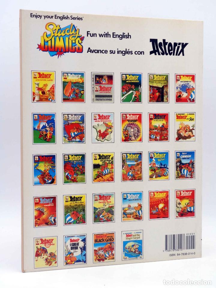 Cómics: STUDY COMICS ASTERIX A3. ASTERIX AND CLEOPATRA (Goscinny / Uderzo) Ediciones del Prado, 1988 - Foto 2 - 149355226