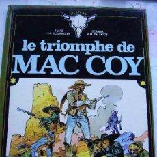 Cómics: ANTONIO HERNANDEZ PALACIOS - MAC COY: LE TRIOMPHE DE MAC COY. DE DARGAUD ..... EN FRANCES. Lote 149474270