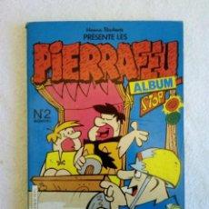 Cómics: PIERRAFEU (LOS PICAPIEDRA) ALBUM Nº 2 EN FRANCÉS. EURODIF 1983 HANNA BARBERA. Lote 149507298