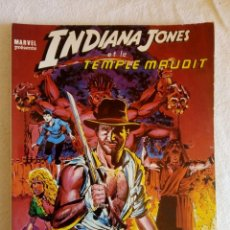 Cómics: MARVEL ORIGINAL ADAPTATION OFFICIELLE INDIANA JONES ET LE TEMPLE MAUDIT 1984. Lote 149530406