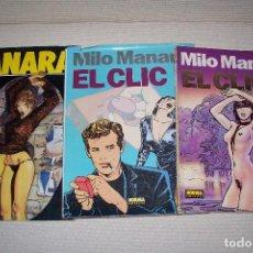 Cómics: 3 DE MILO MANARA. Lote 149546618