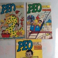 Cómics: PEO - LOTE DE 3 EJEMPLARES, COMIC SUECO AÑO 1978. Lote 149618646