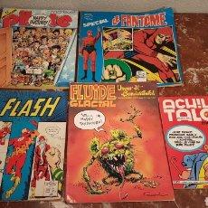 Cómics: LOTE DE COMICS ACHILLE TALON, PILOTE MENSUEL, LE FANTOME, FLASH, FLUIDE GLACIAL.. Lote 150297653