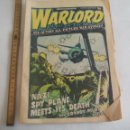 Cómics: WARLORD. NO 26. MARCH 1975. NAZI SPY PLANE MEETS ITS DEATH.WAR STORIES. GREAT BRITAIN. COMIC. Lote 150971946