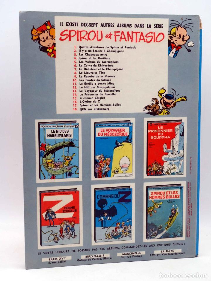 Cómics: LES AVENTURES DE SPIROU ET FANTASIO 13. LE VOYAGEUR DU MÉSOZOÏQUE (Franquin) Dupuis, 1966 - Foto 2 - 151838412