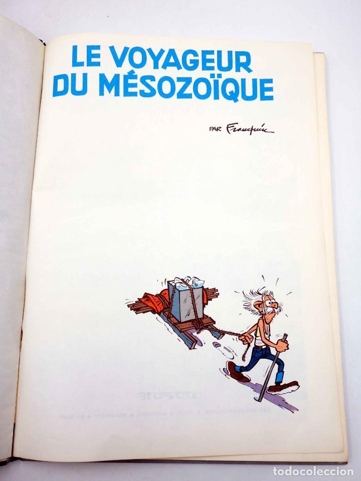 Cómics: LES AVENTURES DE SPIROU ET FANTASIO 13. LE VOYAGEUR DU MÉSOZOÏQUE (Franquin) Dupuis, 1966 - Foto 3 - 151838412