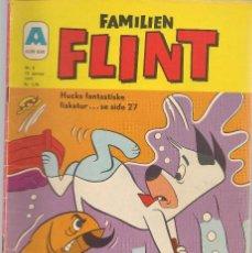Cómics: FAMILIEN FLINT. Nº 2. 15 JANUAR 1971. DANÉS. (B/A11). Lote 151878150