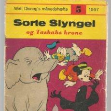 Cómics: SORTE SLYNGEL. Nº 5. 1967. DANÉS. (B/A11). Lote 151878418