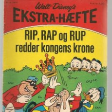 Cómics: EKTRA - HAEFFE. WALT DISNEY.´S. Nº 8. 1971. DANÉS. (B/A11). Lote 151879222