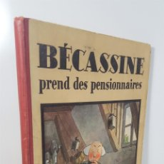 Cómics: BECASSINE. PREND DES PENSIONNAIRES. EDIT GAUTIER LANGUEREAU. PARIS. 1934.. Lote 151990282