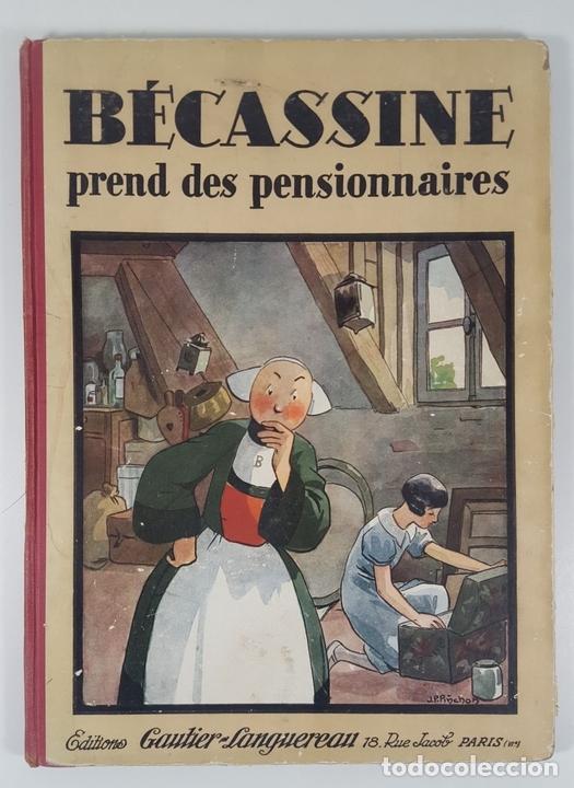 Cómics: BECASSINE. PREND DES PENSIONNAIRES. EDIT GAUTIER LANGUEREAU. PARIS. 1934. - Foto 2 - 151990282
