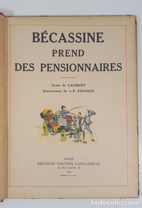Cómics: BECASSINE. PREND DES PENSIONNAIRES. EDIT GAUTIER LANGUEREAU. PARIS. 1934. - Foto 5 - 151990282