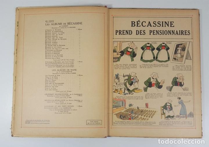 Cómics: BECASSINE. PREND DES PENSIONNAIRES. EDIT GAUTIER LANGUEREAU. PARIS. 1934. - Foto 6 - 151990282