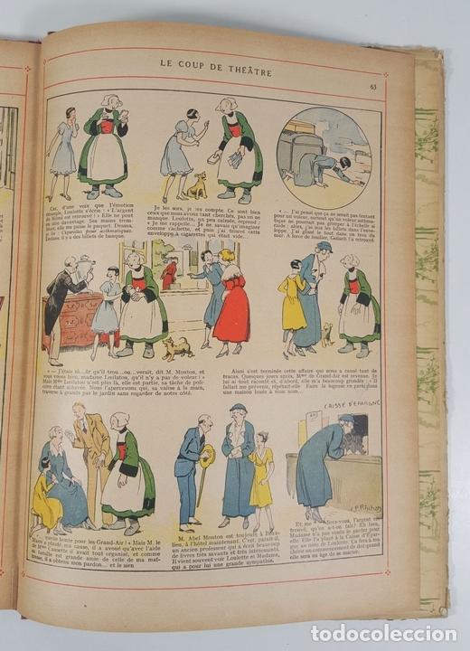Cómics: BECASSINE. PREND DES PENSIONNAIRES. EDIT GAUTIER LANGUEREAU. PARIS. 1934. - Foto 9 - 151990282