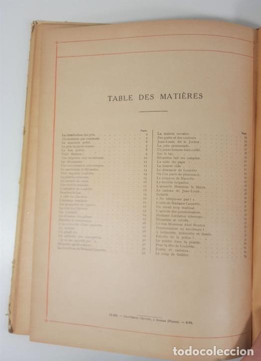 Cómics: BECASSINE. PREND DES PENSIONNAIRES. EDIT GAUTIER LANGUEREAU. PARIS. 1934. - Foto 10 - 151990282