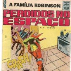Comics : A FAMILIA ROBINSON. PERDIDOS NO ESPAÇO. Nº 6. PORTUGUÉS. (ST/A02). Lote 152216542