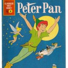Comics : CLASSICOS WALT DISNEY. Nº 4. PETER PAN, PORTUGUÉS. (ST/A02). Lote 152218138