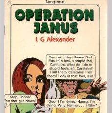 Comics: OPERATION JANUS, L. G. ALEXANDER. INGLÉS. (ST/A1). Lote 152352154