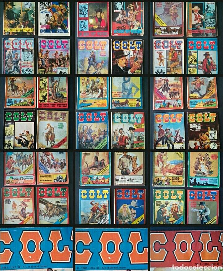 CTC - LOTE 46 COMIC COLT EN IDIOMA NORUEGO - VAN DEL 1978 AL 1990 - COLT WESTERN NORWAY (Tebeos y Comics - Comics Lengua Extranjera - Comics Europeos)