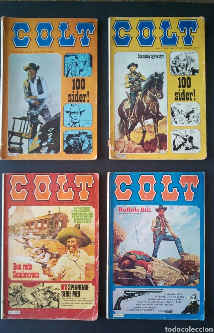 Cómics: CTC - LOTE 46 COMIC COLT EN IDIOMA NORUEGO - VAN DEL 1978 AL 1990 - COLT WESTERN NORWAY - Foto 4 - 153541050