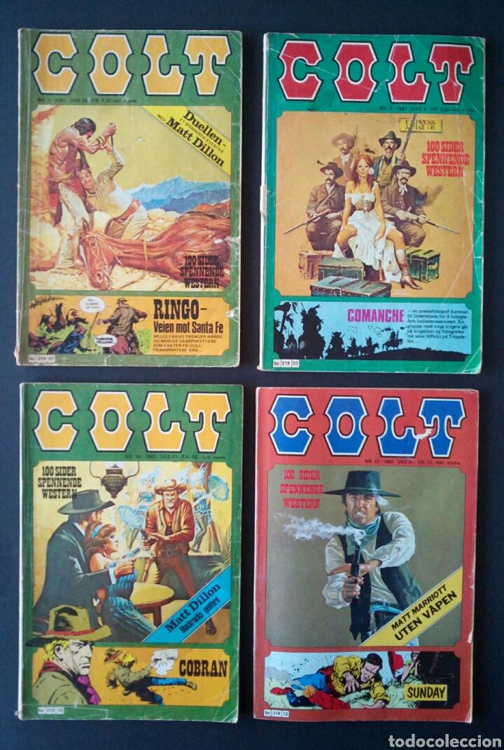 Cómics: CTC - LOTE 46 COMIC COLT EN IDIOMA NORUEGO - VAN DEL 1978 AL 1990 - COLT WESTERN NORWAY - Foto 5 - 153541050