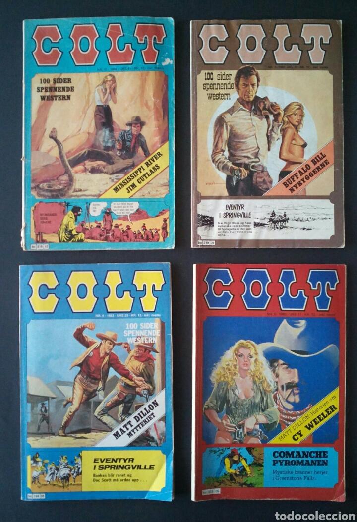 Cómics: CTC - LOTE 46 COMIC COLT EN IDIOMA NORUEGO - VAN DEL 1978 AL 1990 - COLT WESTERN NORWAY - Foto 6 - 153541050