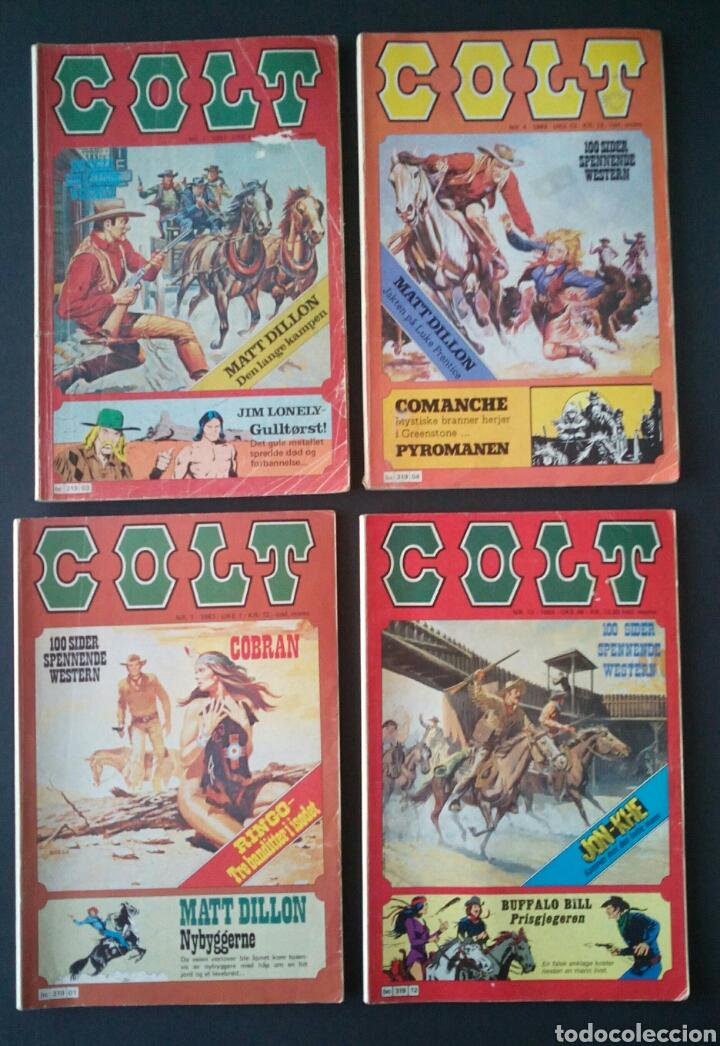 Cómics: CTC - LOTE 46 COMIC COLT EN IDIOMA NORUEGO - VAN DEL 1978 AL 1990 - COLT WESTERN NORWAY - Foto 7 - 153541050