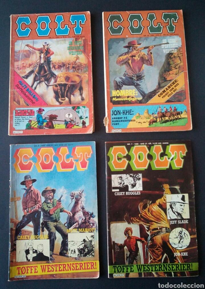 Cómics: CTC - LOTE 46 COMIC COLT EN IDIOMA NORUEGO - VAN DEL 1978 AL 1990 - COLT WESTERN NORWAY - Foto 8 - 153541050