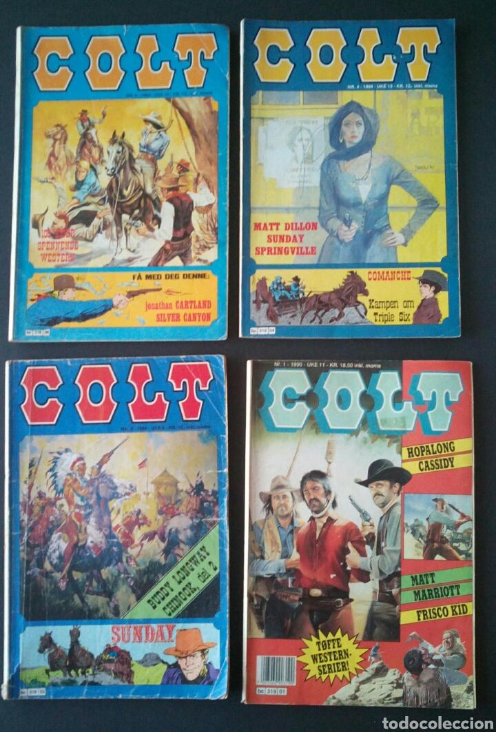 Cómics: CTC - LOTE 46 COMIC COLT EN IDIOMA NORUEGO - VAN DEL 1978 AL 1990 - COLT WESTERN NORWAY - Foto 9 - 153541050