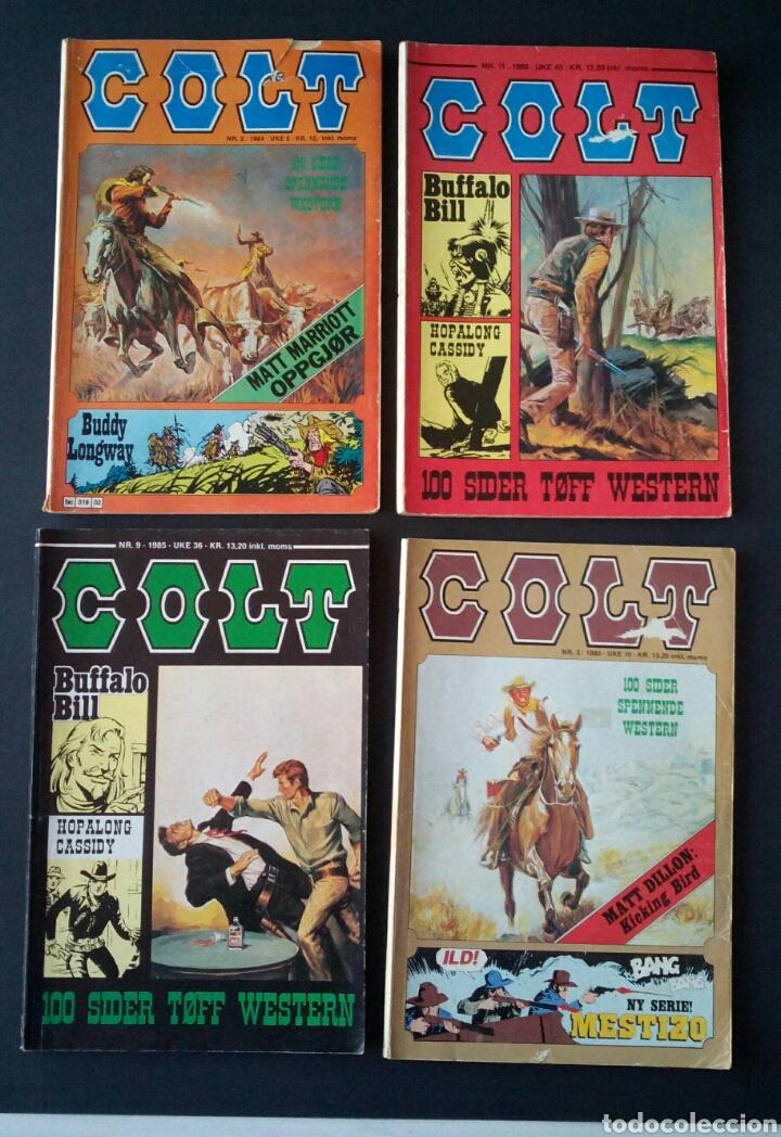 Cómics: CTC - LOTE 46 COMIC COLT EN IDIOMA NORUEGO - VAN DEL 1978 AL 1990 - COLT WESTERN NORWAY - Foto 10 - 153541050