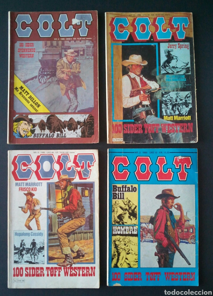 Cómics: CTC - LOTE 46 COMIC COLT EN IDIOMA NORUEGO - VAN DEL 1978 AL 1990 - COLT WESTERN NORWAY - Foto 11 - 153541050