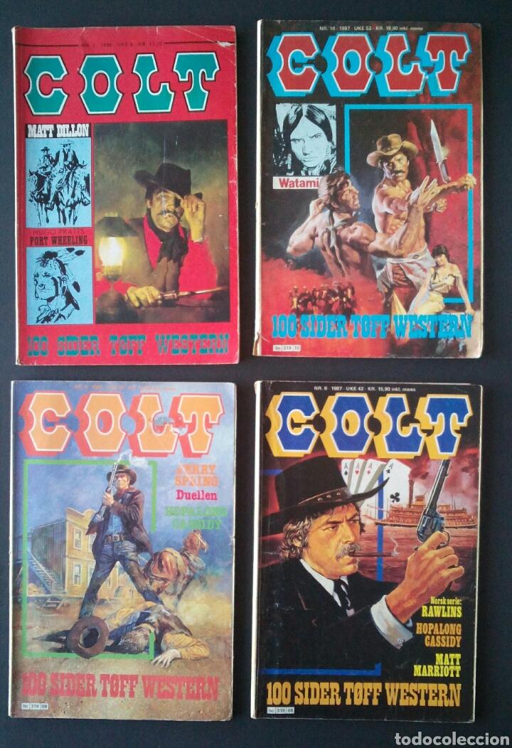 Cómics: CTC - LOTE 46 COMIC COLT EN IDIOMA NORUEGO - VAN DEL 1978 AL 1990 - COLT WESTERN NORWAY - Foto 12 - 153541050