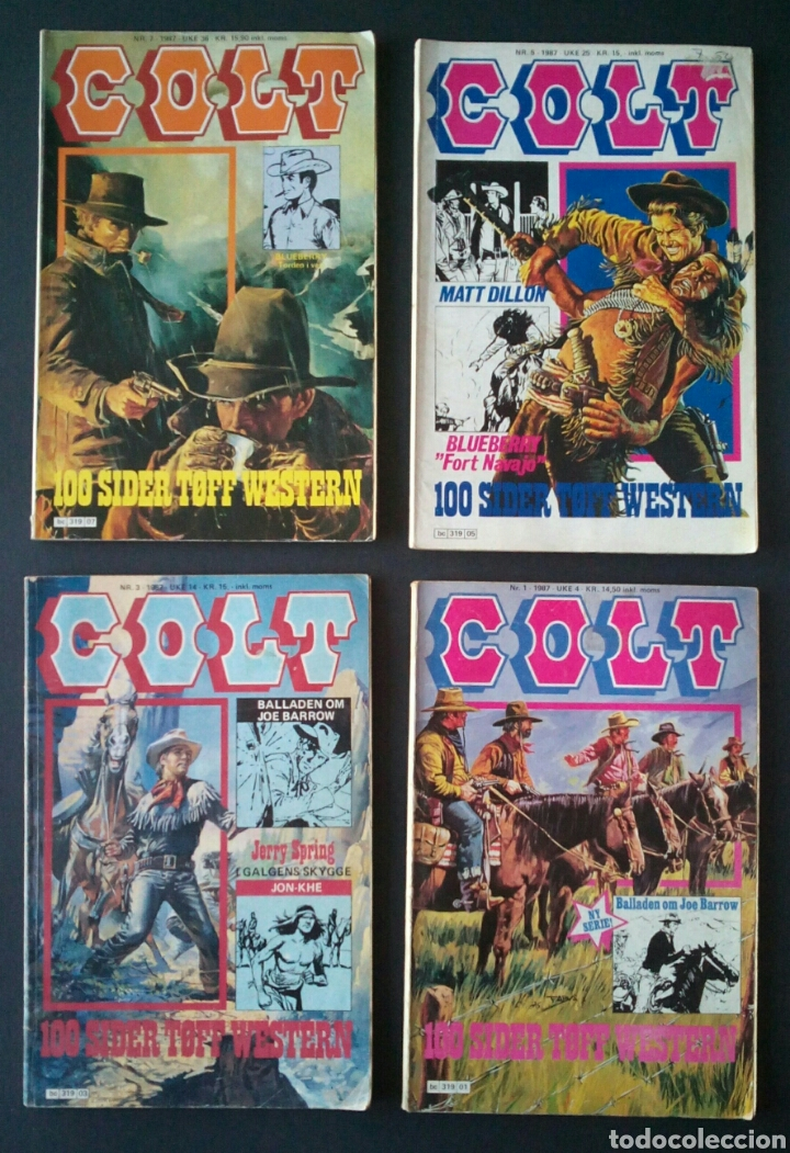 Cómics: CTC - LOTE 46 COMIC COLT EN IDIOMA NORUEGO - VAN DEL 1978 AL 1990 - COLT WESTERN NORWAY - Foto 13 - 153541050